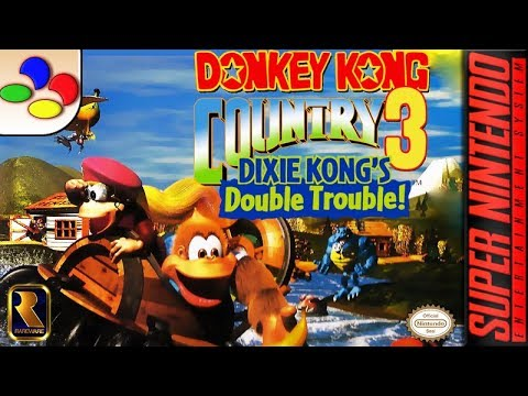 Longplay of Donkey Kong Country 3: Dixie Kong's Double Trouble - YouTube
