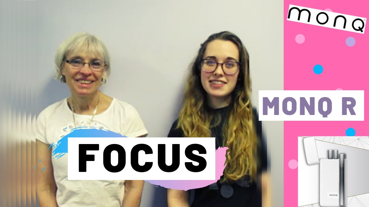 My Grandma and I Finally Try MONQ R and New Focus Blend!