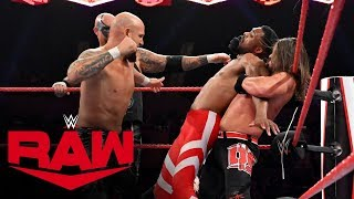 Humberto Carrillo & The Street Profits vs. The O.C.: Raw, Nov. 4, 2019