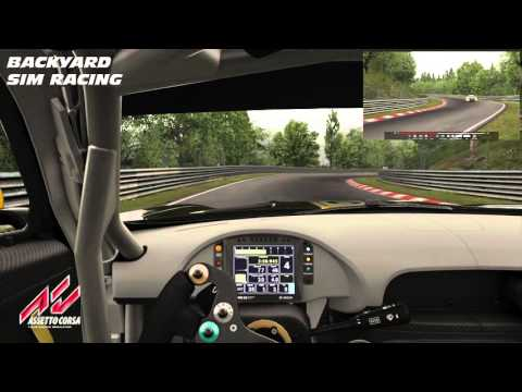 Mercedes Benz AMG GT3 at Nurburgring: Dream Pack 3 Assetto Corsa  
