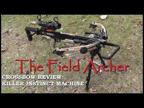 The Archery Review Killer Instinct Machine Crossbow Youtube