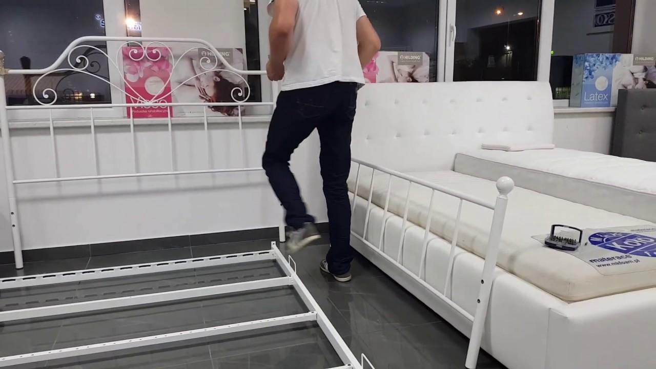 Jak Zmontować łóżko Metalowe Ze Stelażem Lima Venecja Venecja Bis Veronica Bristol Kenia Ankara