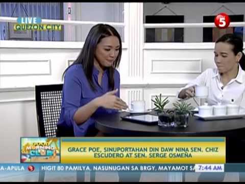 News5E | SENATOR GRACE POE - LIVE INTERVIEW BY CHERYL COSIM