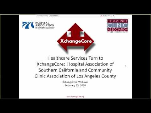 XchangeCore Webinar 2-25-16 Healthcare