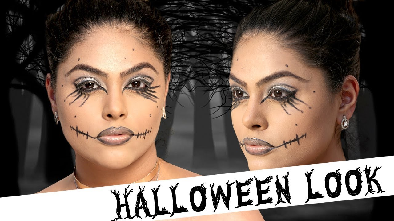 8b457bd65f0ea Halloween Makeup with Namrata - Easy to do Halloween Party Look ...