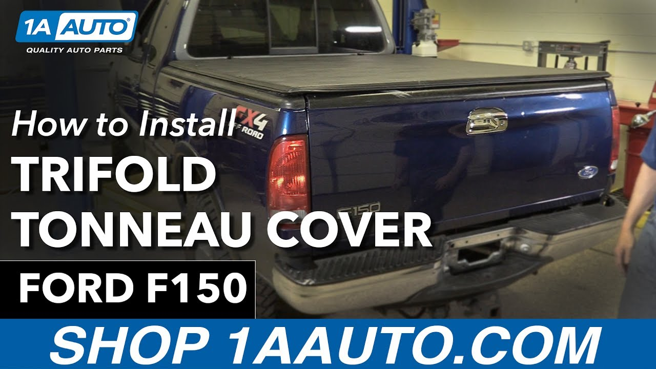 How to install trifold tonneau cover 1997 03 ford f150 buy quality auto parts at 1aauto com