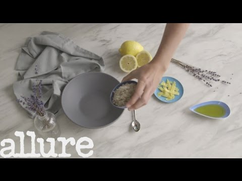 The Simple Facial Scrub Lemon Lovers Will Adore | Face Food | Allure