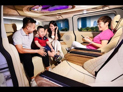 Xe Ford Tourneo Limousine Limited Của  Hãng Xe Dcar  Limousine