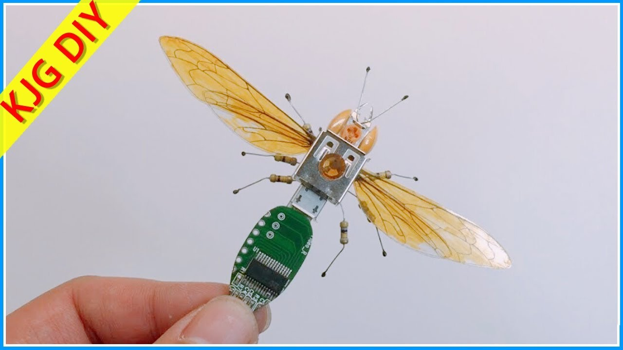 Download How to make flying insect robot