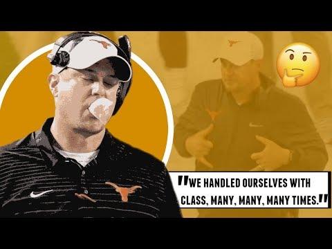 OU Texas Part II: You Stay Classy, Tom Herman