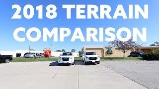 2018 GMC Terrain Comparison