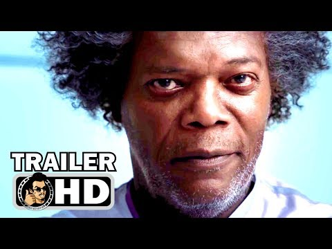GLASS  1 2019 M. Night Shyamalan, Bruce Willis SDCC Movie