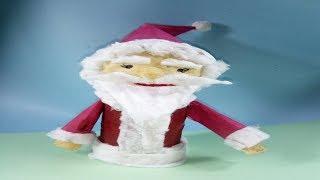 DIY - Comment Faire De Santa Claus Artisanat | artisanat pour Noël | le Journal de l'Artisanat