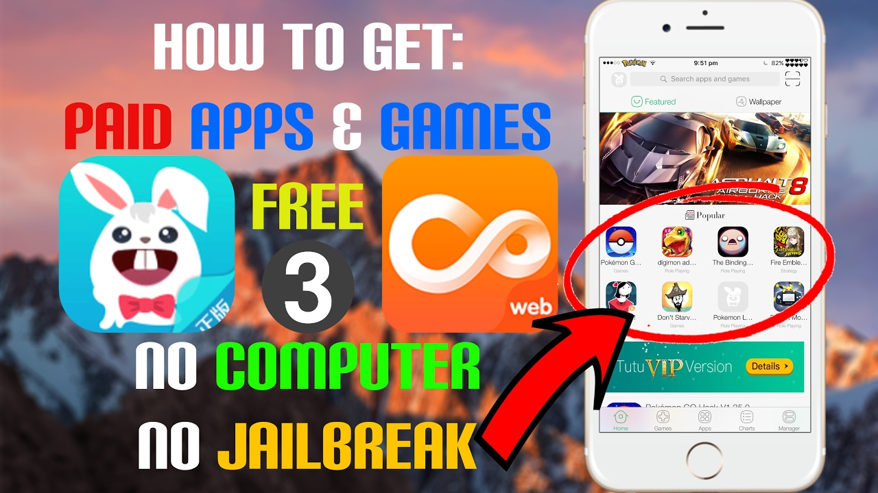 iOS 9/10 - 10 3 How To: Get ANY PAID App/Game FREE (3 METHODS) (NO  COMPUTER) (NO JAILBREAK)