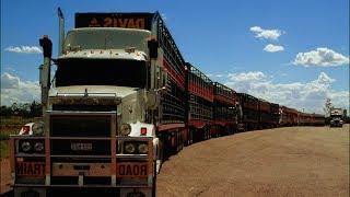 САМЫЙ ДЛИННЫЙ АВТОПОЕЗД в МИРЕ / самый длинный грузовик