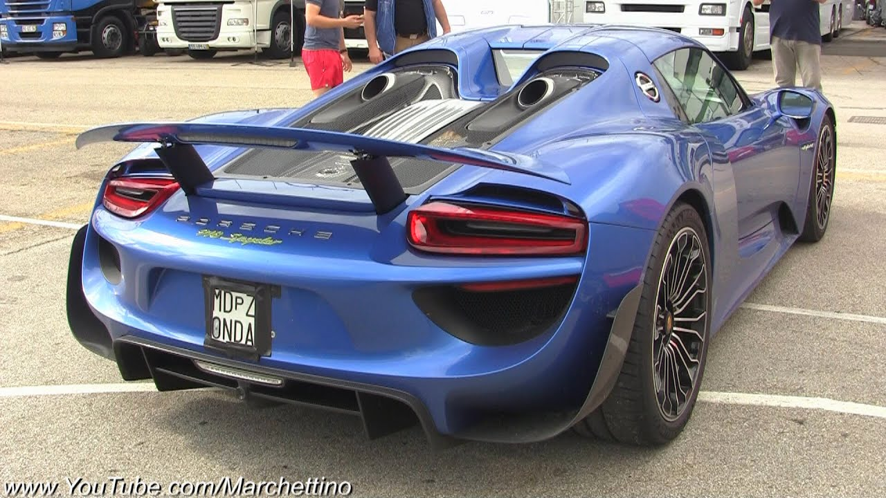 horacio pagani 39 s brand new porsche 918 spyder doovi. Black Bedroom Furniture Sets. Home Design Ideas