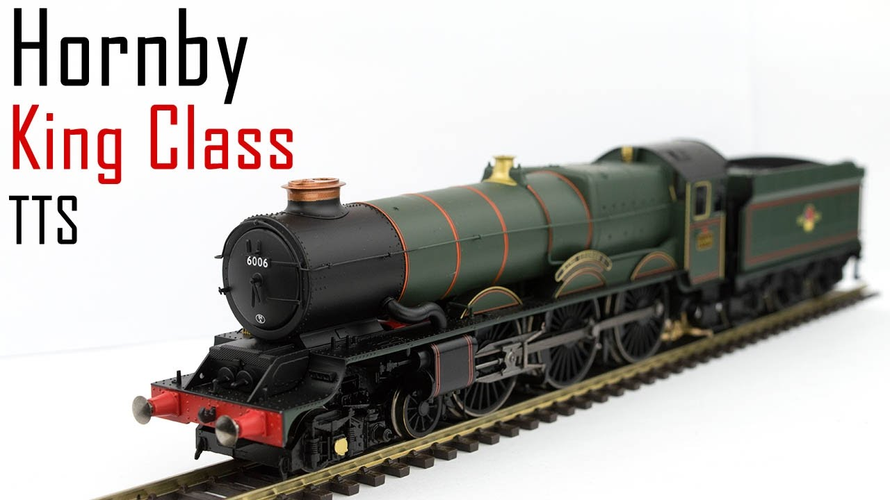 Unboxing the Hornby King Class with TTS Sound
