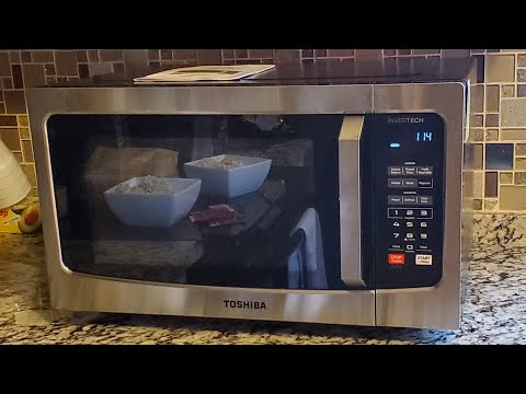 Toshiba Em925a5a Ss 90 Microwave Oven With Sound On Off Eco