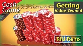 Poker Vlog 21: Getting Value-Owned @ RIU Reno