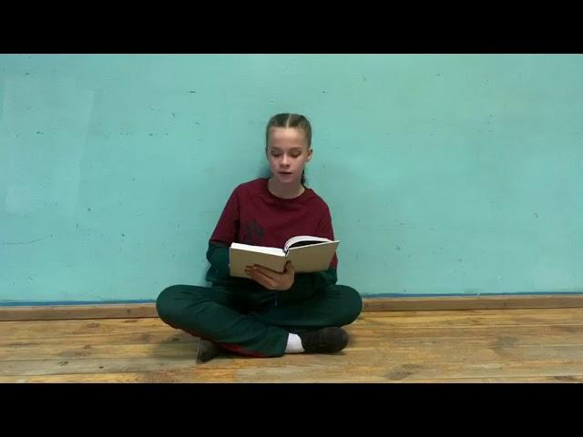 Боярченко Елизавета читает произведение «Родина» (Бунин Иван Алексеевич)