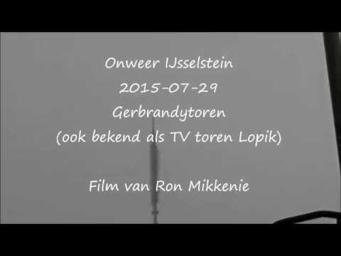 Onweer IJsselstein Gerbrandytoren
