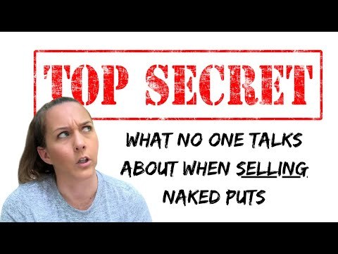 The TRUTH about SELLING naked put options // What other YouTubers won't talk about