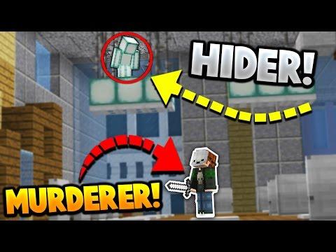 BEST or WORST HIDING SPOT?!   Minecraft MURDER MYSTERY