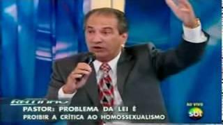 Debate entre Iara Bernardi X Pr Silas Malafaia no Programa do Ratinho - Parte 2