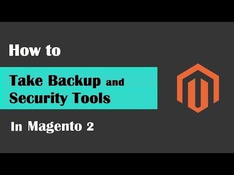 Magento 2 Tutorial Lesson #17 | #SecurityAndBackupToolsInMagento2