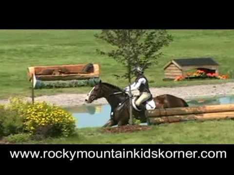 Horses jumping cross country - photo#54