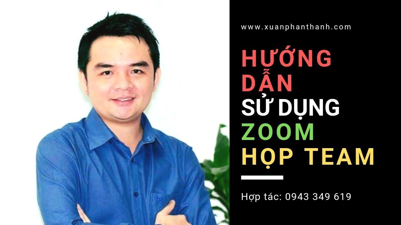 Zoom Meeting – Hướng dẫn sử dụng phần mềm ZOOM trên laptop