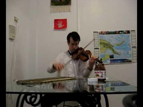 Paganini Caprice # 22 - William Harvey, violin