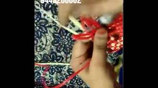 biscuit basket easily weaving tips by lathifa Kambam