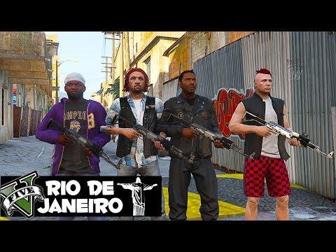 GTA 5 ROLEPLAY : ASSALTO E TROCA DE TIROS COM OS PM 🔫🔫 GTA V VIDA DO CRIME
