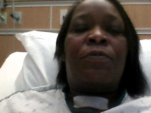 Thyroidectomy my 1st day after surgery