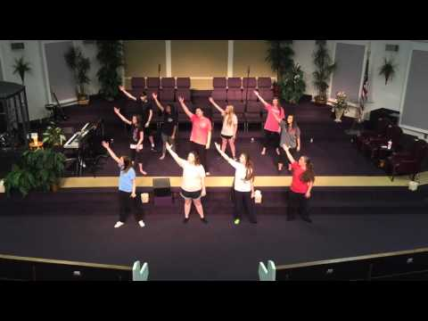 Psalms 23 - Eddie James & Colourblind -Drama/Dance PRACTICE