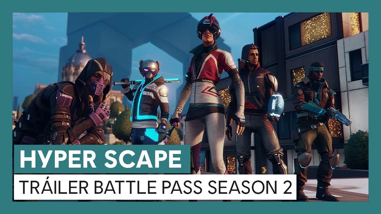 Hyper Scape: Tráiler Battle Pass Season 2