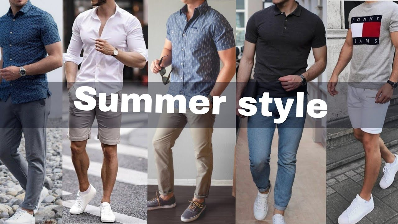 2019 Summer casual fashion for Men's