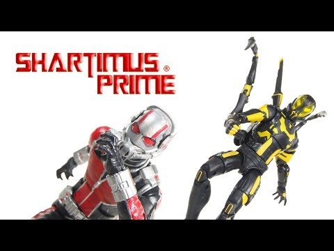 Marvel Legends Ant-Man and Yellowjacket Marvel Studios The First 10 Years 2 Pack Movie Figure Review