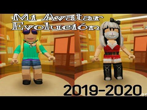 Roblox-Mi Avatar Evolución(2019-2020)