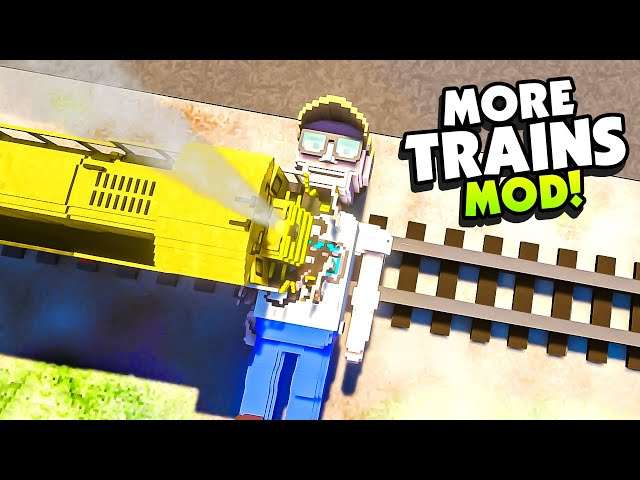 Fully Destroying FYNNPIRE and other YOUTUBERS With a TRAIN! - Teardown Mods