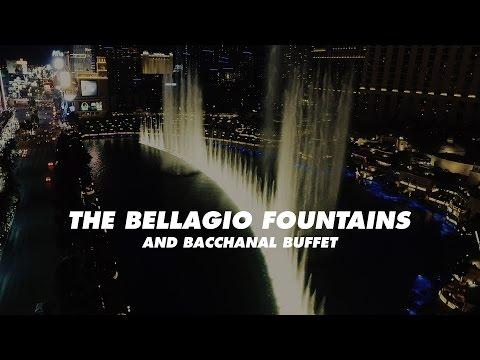 The Bellagio Fountains and the Bacchanal Buffet | Allie Knight