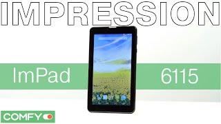 Impression ImPad 6115 - бюджетный планшет с 3G -  Видеодемонстрация от Comfy