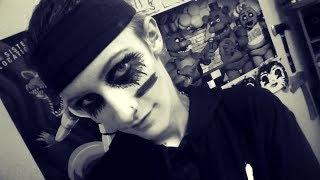 Andy Biersack - Black Veil Brides Updated 2017 Makeup/Face Paint Tutorial : DAYSTAR PANDA