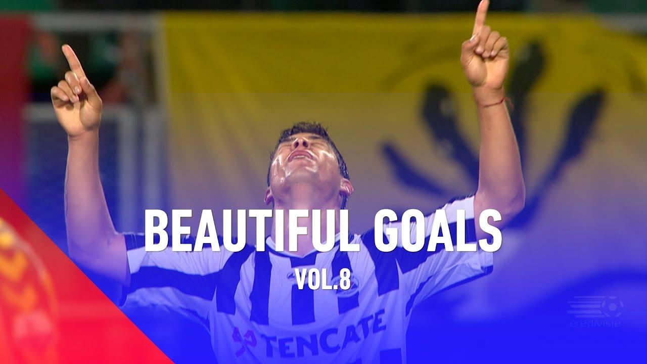BESTE GOALS IN EREDIVISIE   BEAUTIFUL GOALS VOL #8