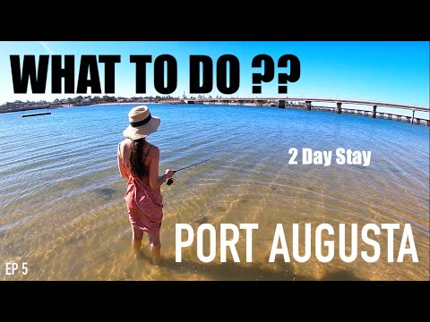 Staying at Discovery Parks, Port Augusta - Salmon Fishing, OutBack Centre and the Botanical Garden