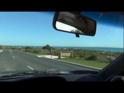 Driving from Ocean Reef to Mullaloo Beach in Perth, Western Australia