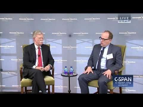 John Bolton on US National Security Strategy - Iran, China, Russia, North Korea Oct 31, 2018