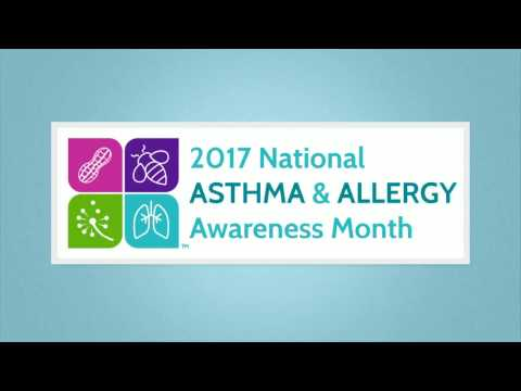National Asthma and Allergy Awareness Month   PSA 2017