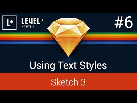 Sketch App Tutorials - #6 Using Text Styles
